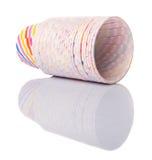Tazze bollenti di carta del bigné XI Fotografia Stock