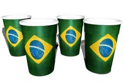 Tazze brasiliane Immagine Stock