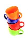 Tazze colorate Immagine Stock