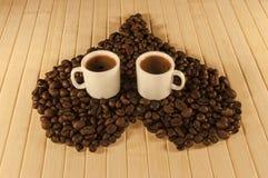 Tazze da caffè Immagini Stock Libere da Diritti