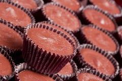 Tazze del cioccolato al latte Immagine Stock Libera da Diritti