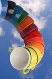 Tazze della porcellana Fotografia Stock Libera da Diritti