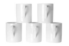 Tazze di caffè Fotografia Stock