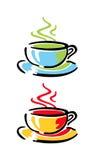 Tazze di caffè illustrazione vettoriale