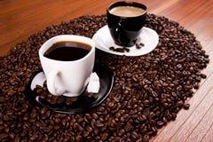 Tazze di caffè Fotografie Stock Libere da Diritti