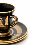 Tazze di caffè greche Fotografia Stock Libera da Diritti