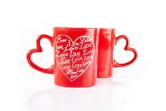 tazze di caffè piacevoli Fotografia Stock