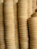 Tazze di ceramica Immagini Stock
