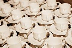 Tazze di Coffe Fotografie Stock Libere da Diritti