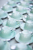 tazze di tè Fotografie Stock