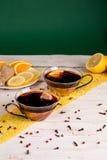 tazze di tè Immagini Stock Libere da Diritti
