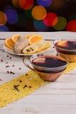 tazze di tè Fotografia Stock Libera da Diritti