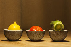 Tazze di tè del Giappone Fotografia Stock Libera da Diritti