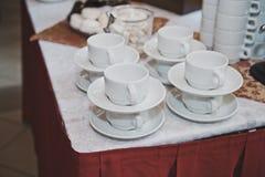 Tazze per tè e caffè 1747 Immagine Stock Libera da Diritti