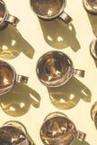 Tazze in una forma di cuore Fotografia Stock Libera da Diritti