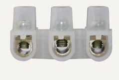 TB de connecteurs BRITANNIQUES Photo stock
