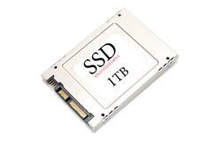 1TB SSD驱动 免版税库存照片