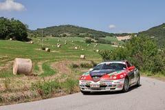 TB van Alfa Romeo GTV van de verzamelingsauto V6 Royalty-vrije Stock Foto