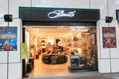 Tbenato shoppar i hong kveekoong Royaltyfri Bild