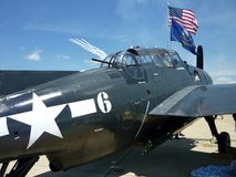 TBF Avenger at the Air Show royalty free stock photos