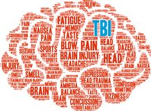TBI Word Cloud Stock Images