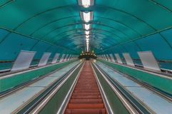 The soviet architecture of Tbilis stock photography