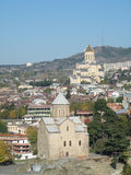 Tbilisi-Überblick Stockbilder