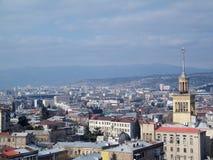 Tbilisi-Überblick Lizenzfreies Stockfoto