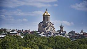Tbilisi Γεωργία Στοκ φωτογραφία με δικαίωμα ελεύθερης χρήσης
