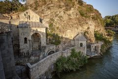 Tbilisi Ο ναός του ST Abo στοκ εικόνα με δικαίωμα ελεύθερης χρήσης