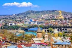 Tbilisi, πρωτεύουσα της Γεωργίας στοκ φωτογραφία με δικαίωμα ελεύθερης χρήσης
