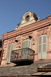 Tbilisi. The traditional house with a balcony Royalty Free Stock Photography