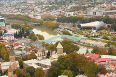 Tbilisi-alte Stadt Lizenzfreies Stockfoto