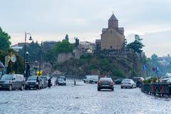 Tbilisi após a chuva Foto de Stock Royalty Free