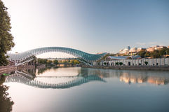 Tbilisi bridge Stock Image