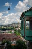 Tbilisi, capital de Geórgia fotografia de stock royalty free