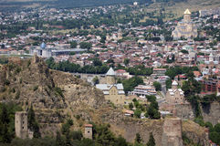 Tbilisi castle Royalty Free Stock Image