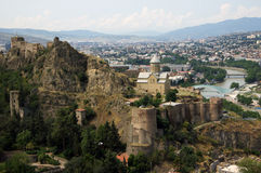 Tbilisi castle Royalty Free Stock Images