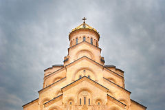 Tbilisi Cathedral Stock Photography