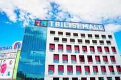 Tbilisi centrum handlowego powierzchowność Zdjęcia Royalty Free