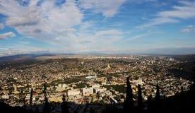 Tbilisi city panorama, Georgia Stock Photos