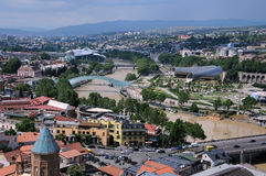 Tbilisi the Day Before the Flood Royalty Free Stock Photo