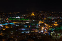 Tbilisi - evening view Stock Photography