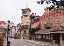tbilisi för rezo för gabriadzegeomarionette teater Arkivbilder