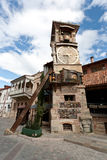 Tbilisi falling tower. Stock Photo