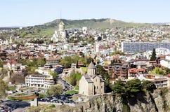 Tbilisi gammal stad Royaltyfria Foton