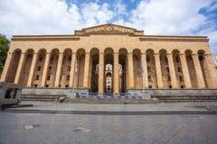 Tbilisi, Geórgia - 7 de maio de 2017: Construção velha do parlamento em Rus Foto de Stock Royalty Free