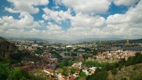 Tbilisi, Geórgia Lapso de tempo UHD, 4K video estoque