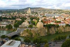 Tbilisi, Georgië - Land Stock Foto