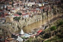 Tbilisi Georgia Royaltyfria Foton